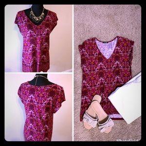 Tops - Pink floral top